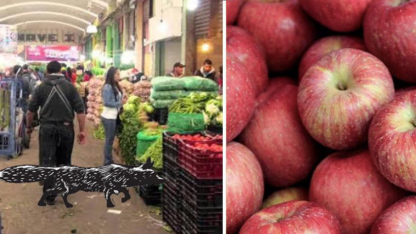 Ya detuvieron al ladrón de manzanas que azotaba la Central de Abastos y resultó ser un misterioso zorro