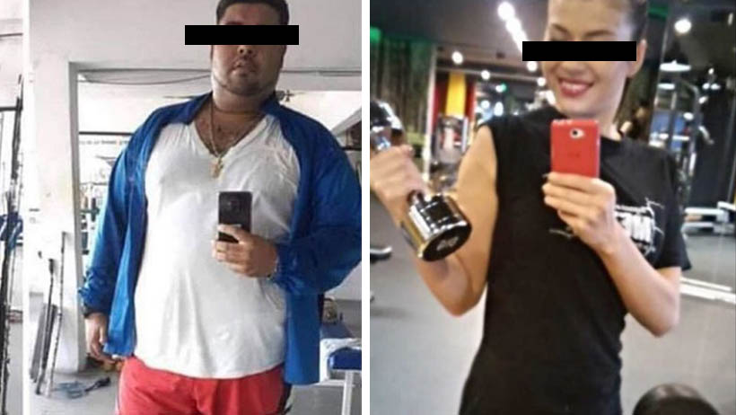 Gym pretextos selfies