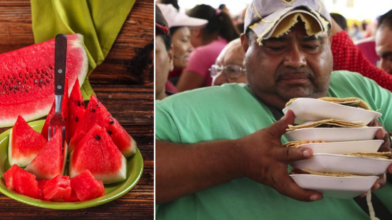 Mexicano que se come 25 tacos asegura que la sandía cae