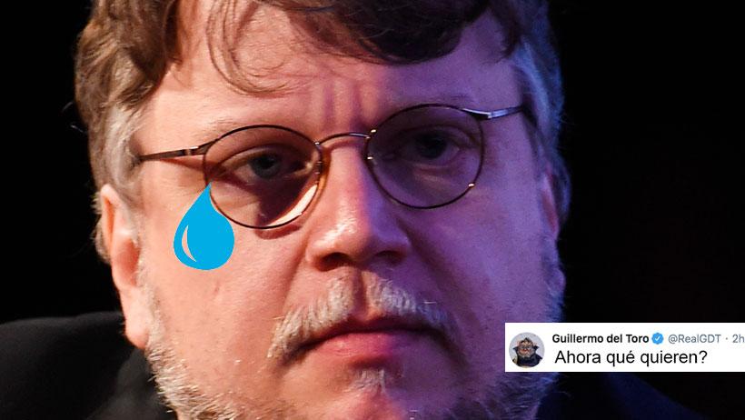 Confirman que Guillermo del Toro, cada que entra a Twitter sale con 10 estudiantes becados, 3 ahijados y comprometido a ser padrino de XV años