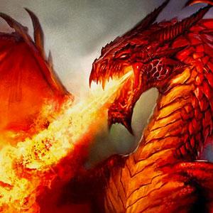 Un dragón