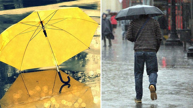 Comienza gran periodo anual de personas que siempre pierden los paraguas