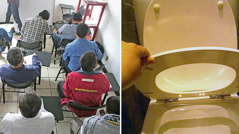 Abrirán escuela para que hombres aprendan a levantar la tapa del baño