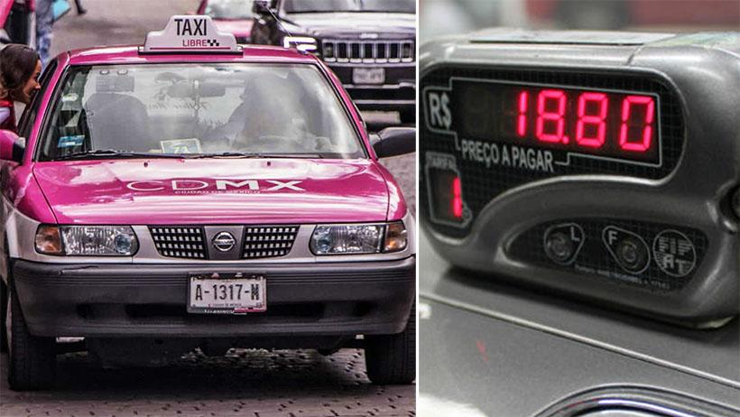 Taxista que trae alterado el taxímetro exige que le respeten su trabajo