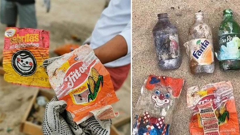 ¿Recuerdas las envolturas de tu infancia? Pues volvieron en forma de plástico que no se va