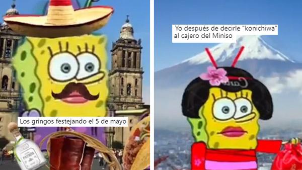 """14 internacionales memes de Bob Esponja que te harán decir """"súper yo weee"""""""