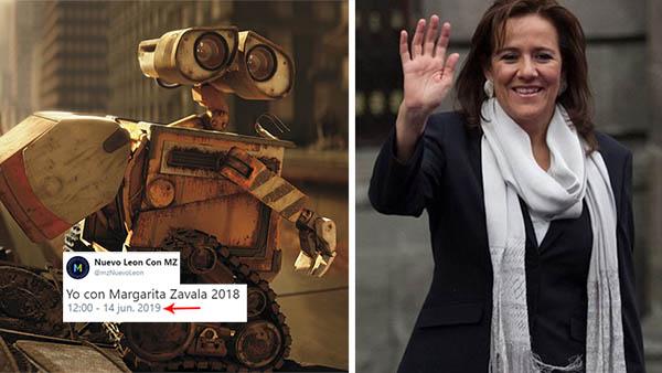 Este triste bot sigue apoyando a Margarita Zavala para 2018 y el Internet muere de ternura