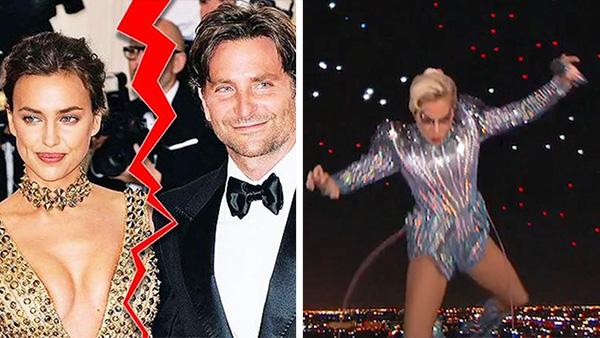15 reacciones a la separación de Bradley Cooper con Irina Shayk por culpa de Lady Gaga
