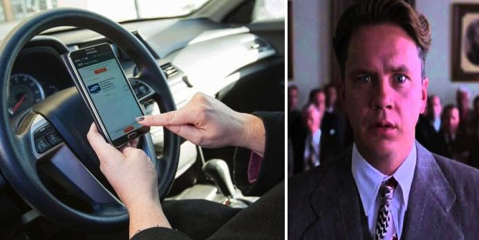 Darán cadena perpetua a personas que estén viendo su celular en los semáforos
