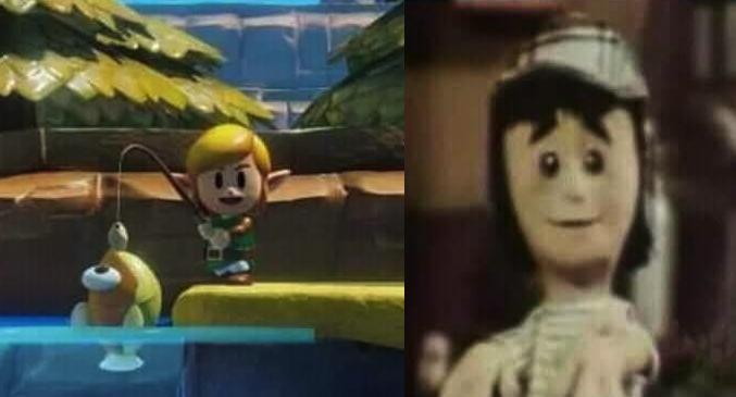 Confirman la aparición del Chavo del Ocho en nuevo juego de Zelda
