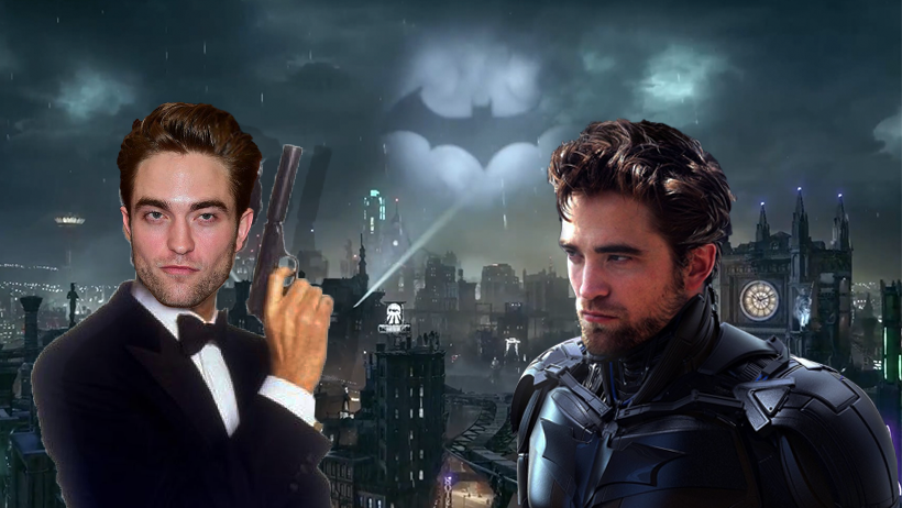 Confirman que Robert Pattinson será Batman y James Bond en la misma película