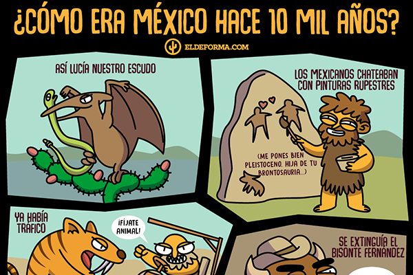¿Cómo era México hace 10mil años?