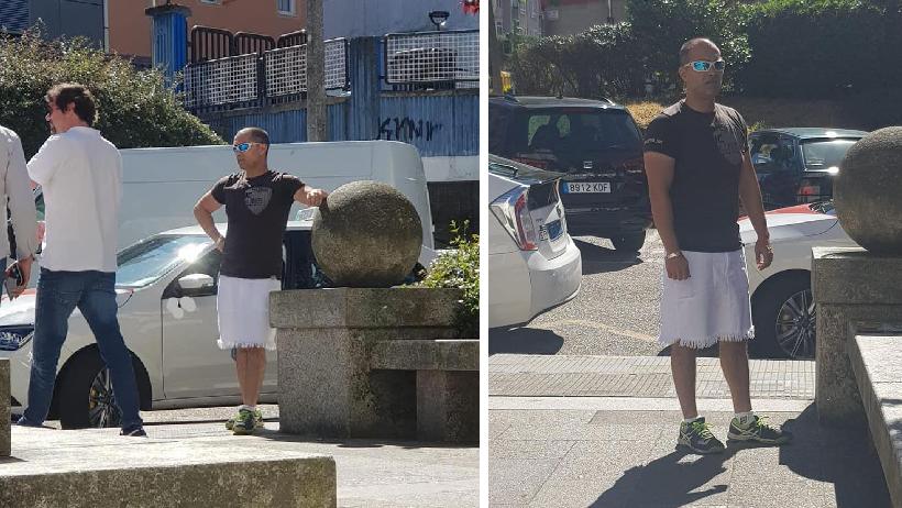 Mientras tanto, en España denuncian a taxista por trabajar en falda