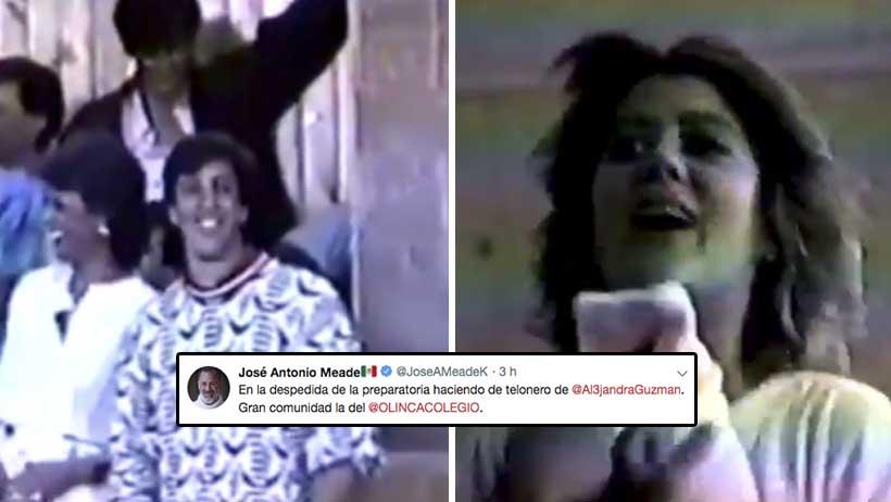 Meade acaba de compartir un video donde Alejandra Guzmán lo humilla en la prepa