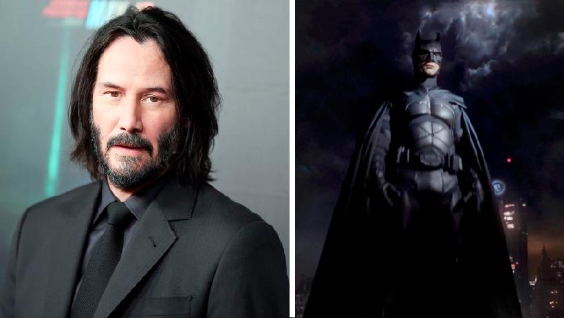 Batman protagonizará a Keanu Reeves en película sobre su vida