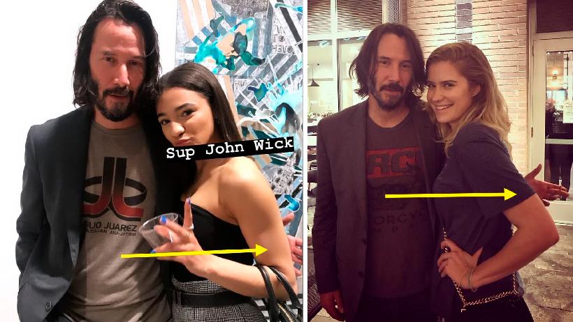 Todo lo que sabemos sobre por qué Keanu Reeves no toca a sus fanáticas