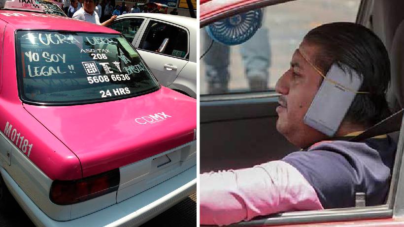 Taxista que viaja sin cromática asegura que los de Uber no trabajan conforme la ley