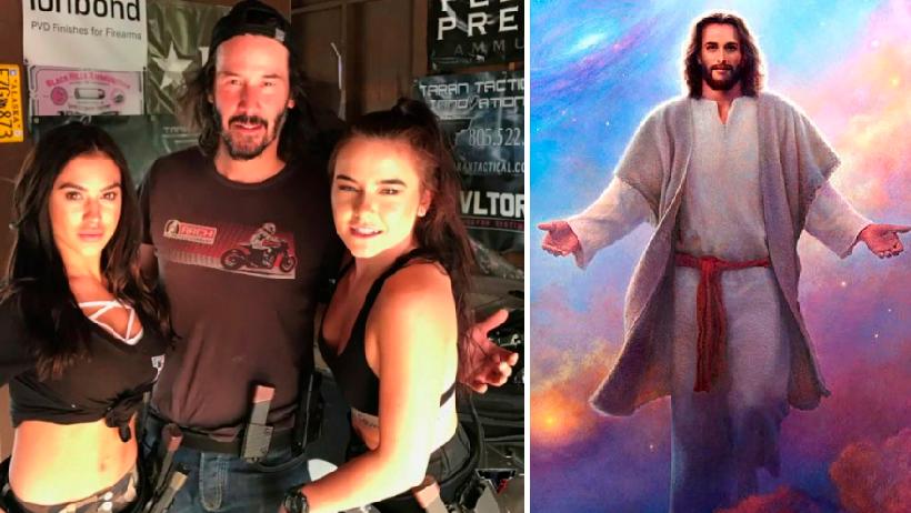 Someterán a cirugía a Keanu Reeves para que pueda mover los brazos