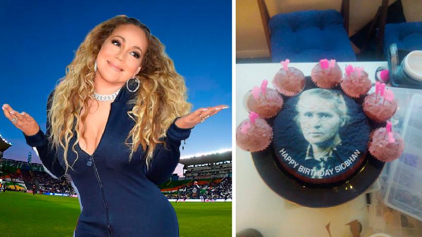 Clásico que pides un pastel de Mariah Carey y te dan uno de Marie Curie