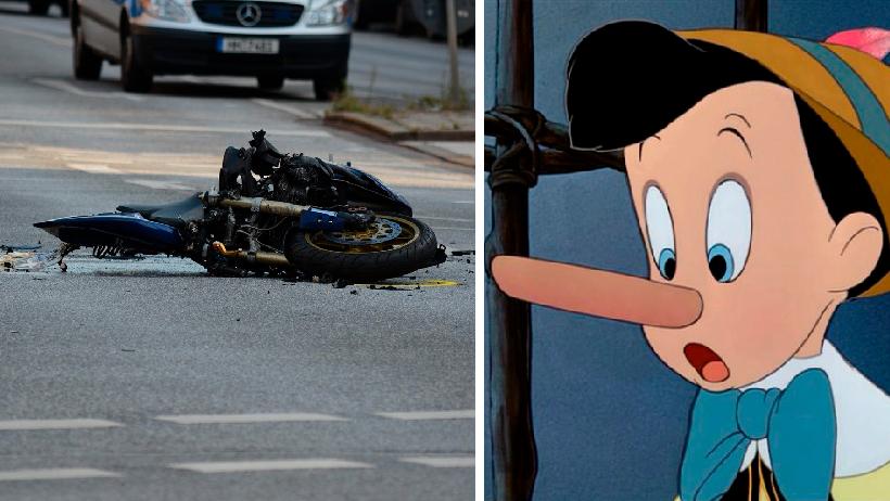 Clásico que un accidente en moto te provoca una erección extrema de 9 días