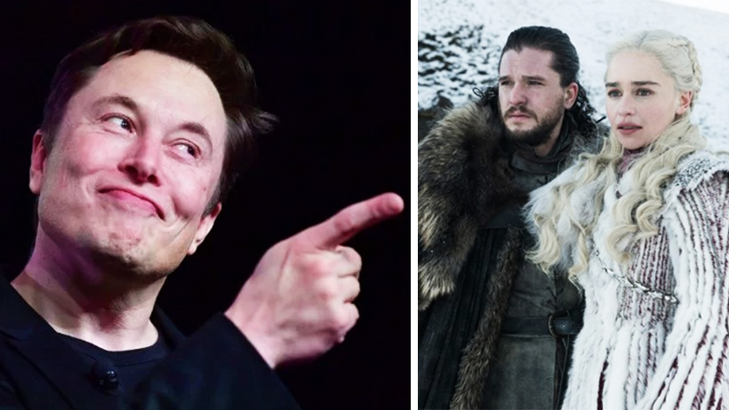 Así es como Elon Musk, santo patrono de los nerds, planea salvar Game of Thrones