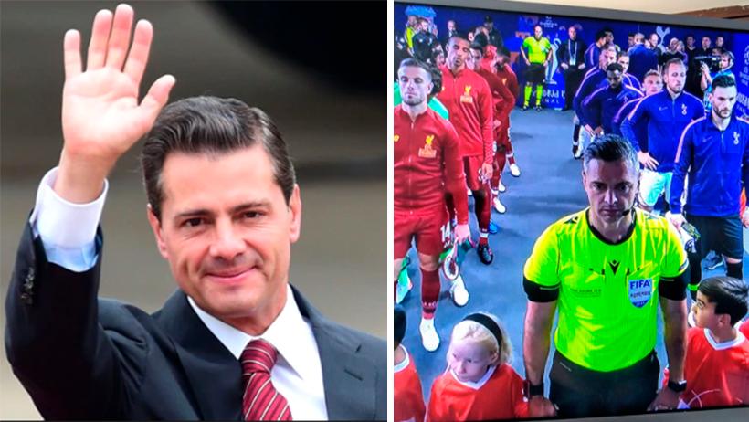 FIFA confirma que el árbitro de la Champions es Peña Nieto