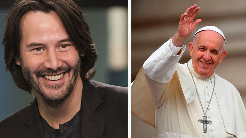 El Vaticano canonizará a Keanu Reeves por devolverle la esperanza a la humanidad