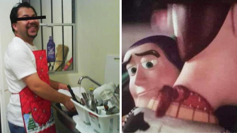 Tras ver Toy Story 4, hombres mandilones agarran valor para dejar a sus amigos