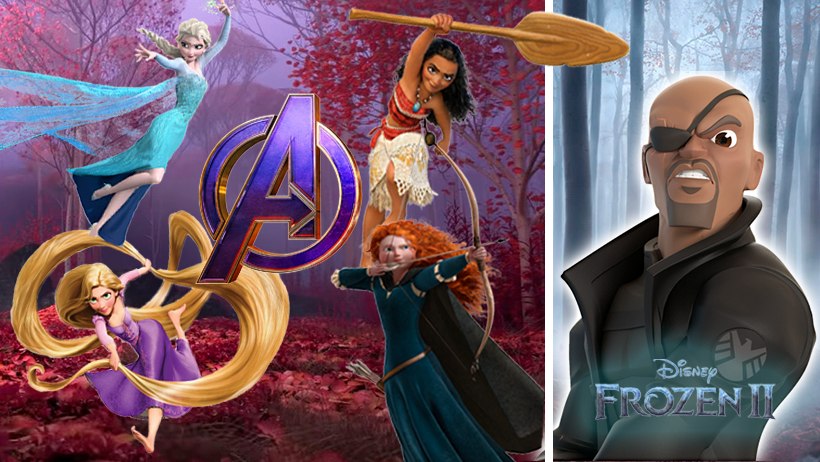 "Tras trailer de Frozen 2, Disney confirma el crossover ""Avengers: A Princess Heart"""