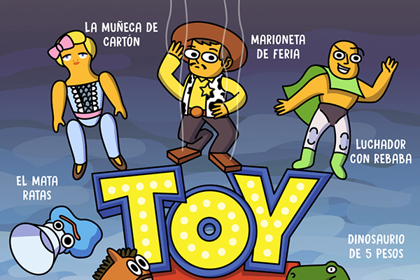 Toy story mexicano