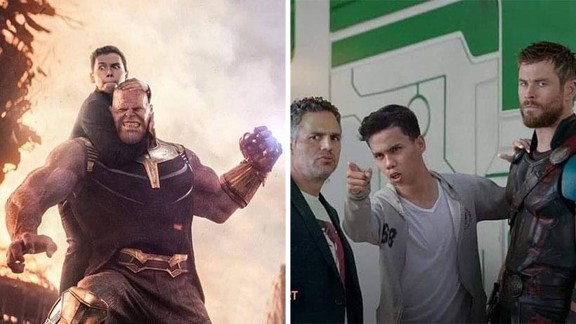 Este carnal cumplió el sueño de muchos y logró introducirse en escenas de Los Avengers