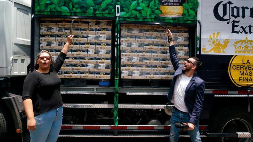 ¡Tú también puedes ganarte un camión de Coronas!