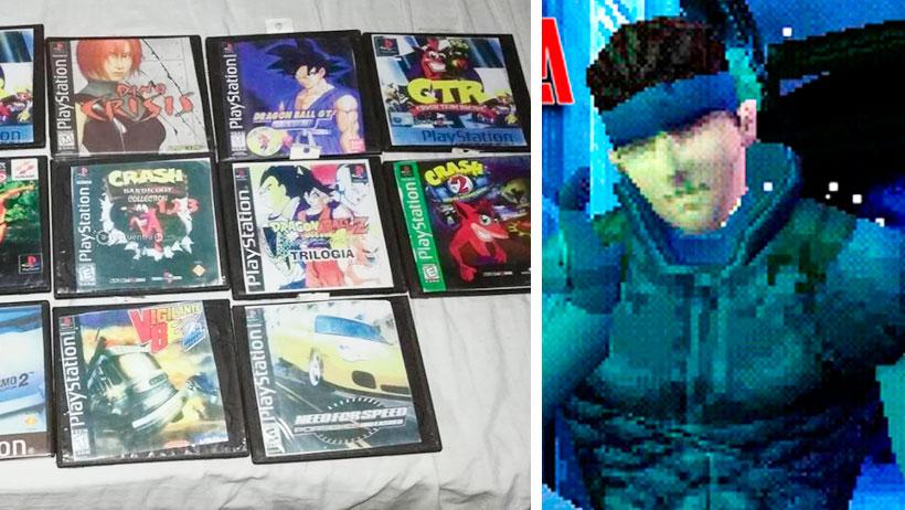 11 videojuegos del Play 1 que seguro tenías en bolsita con todo y chip para leerlos