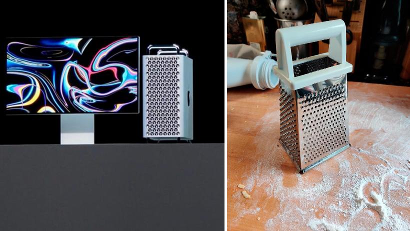 Apple presenta su nuevo rallador de queso y todo el mundo ya quiere poner ahí sus dedos