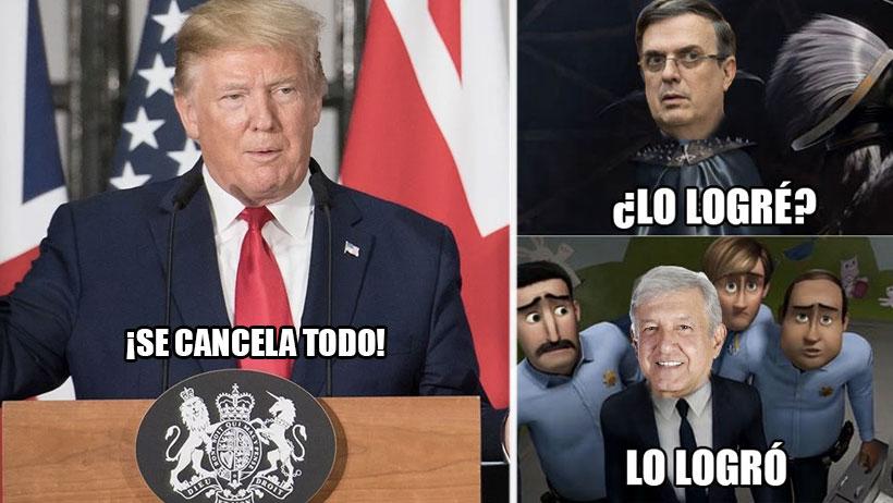 En su cara derechairos, AMLO ya llegó a un acuerdo con Trump por los aranceles