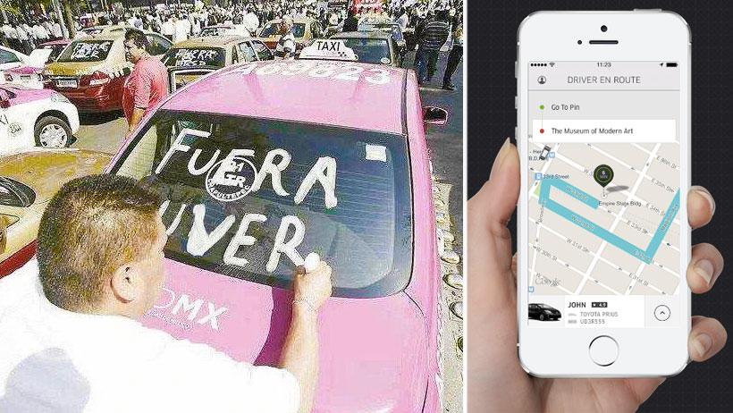 Ante escasez de taxis, se reportan más viajes en Uber, Didi y las otras que nadie usa