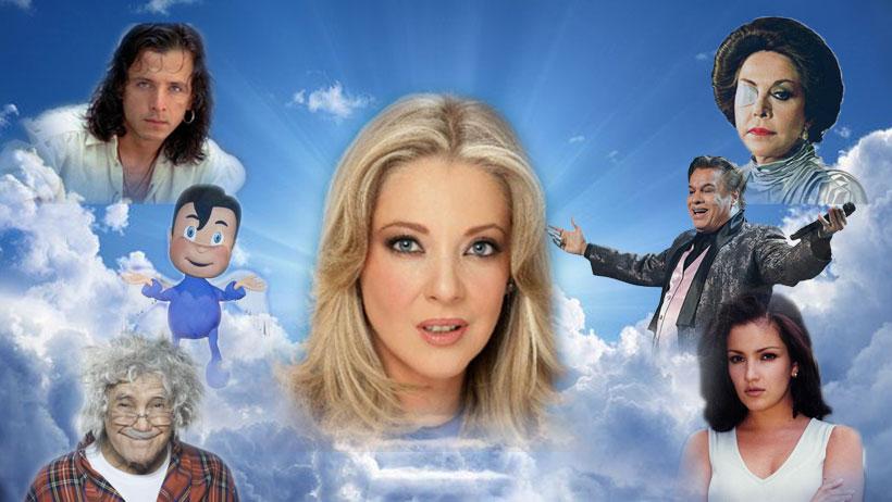 Edith González se nos fue al cielo y así la recuerda el internet