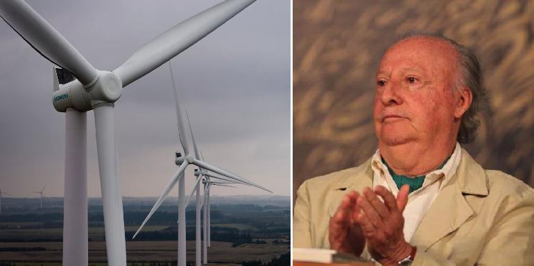 Resulta que la energía eólica le roba el aire a las personas, según el titular de la SEMARNAT