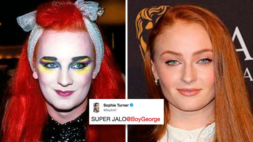 ¿Te burlaste de Sansa porque se parece a Boy George? Pues ya dijo que sí jala para interpretarlo
