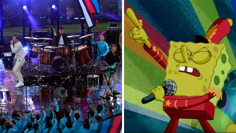 Imagine Dragons y Bob Esponja darán clases a bandas que sí quieran rifar en shows de medio tiempo