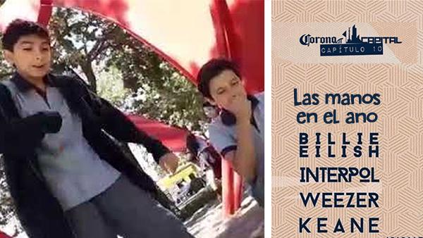 """Confirman a los niños de """"Las manos en el ano"""" como headliners del Corona Capital 19"""