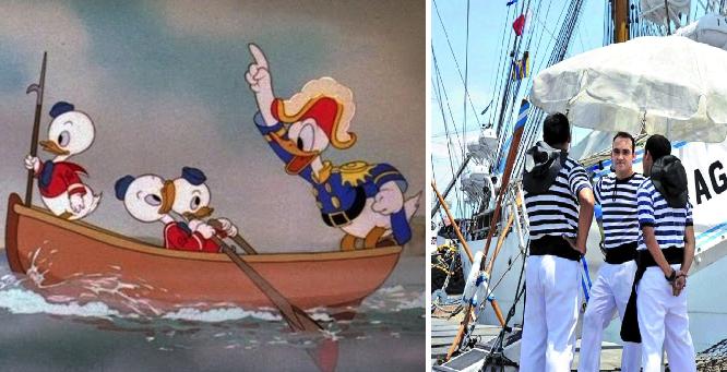 Capitán que baila la Bamba con un poco de gracia es degradado a marinero