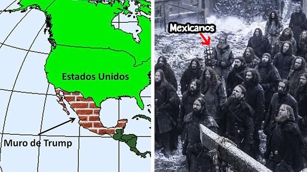 Ahora que México es el muro de Trump, mexicanos deberán vestir el negro para protegerlo