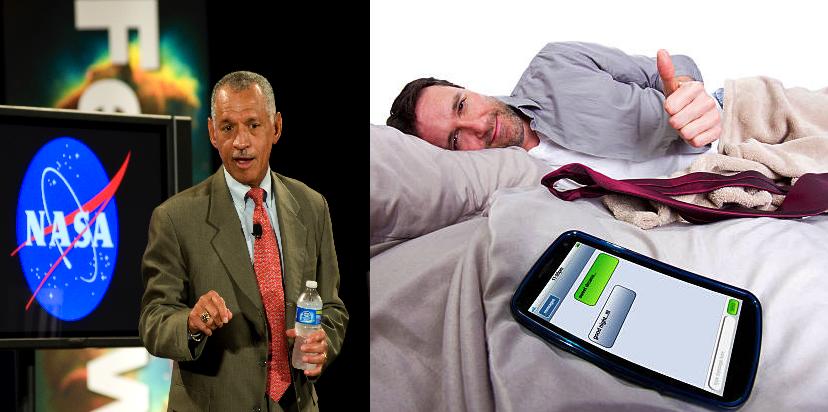 Genios que se vayan a dormir y logren seguir en línea serán contratados por la NASA