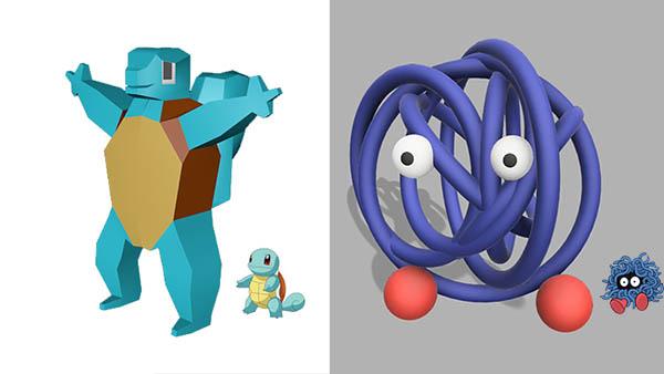 Este challenge nos muestra cómo se verían los Pokemones si los diseñaran en 5 minutos