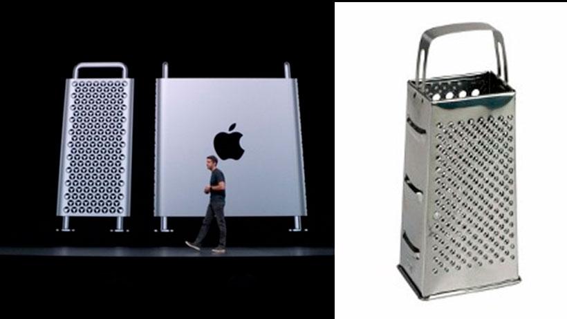 El nuevo rallador de queso de Apple costará nada más 120 mil pesos
