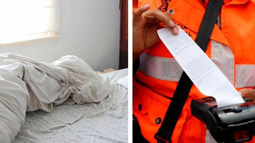 Personas que lleguen los lunes oliendo a sábanas serán acreedoras a severas multas