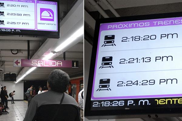 Misterioso aparato del tiempo aparece en el Metro y los chilangos todavía no saben qué es