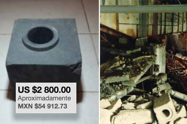 ¿Te sientes bien tóxico y te sobran 55 mil pesos? Ya puedes comprar un pedazo de Chernobyl