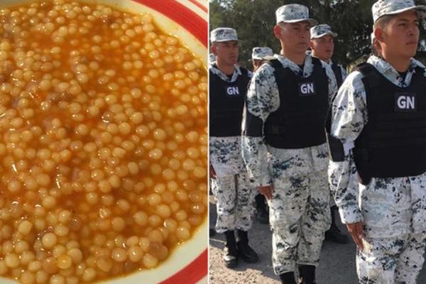 Niños que preferían la sopa de municiones podrán entrar a la Guardia Nacional